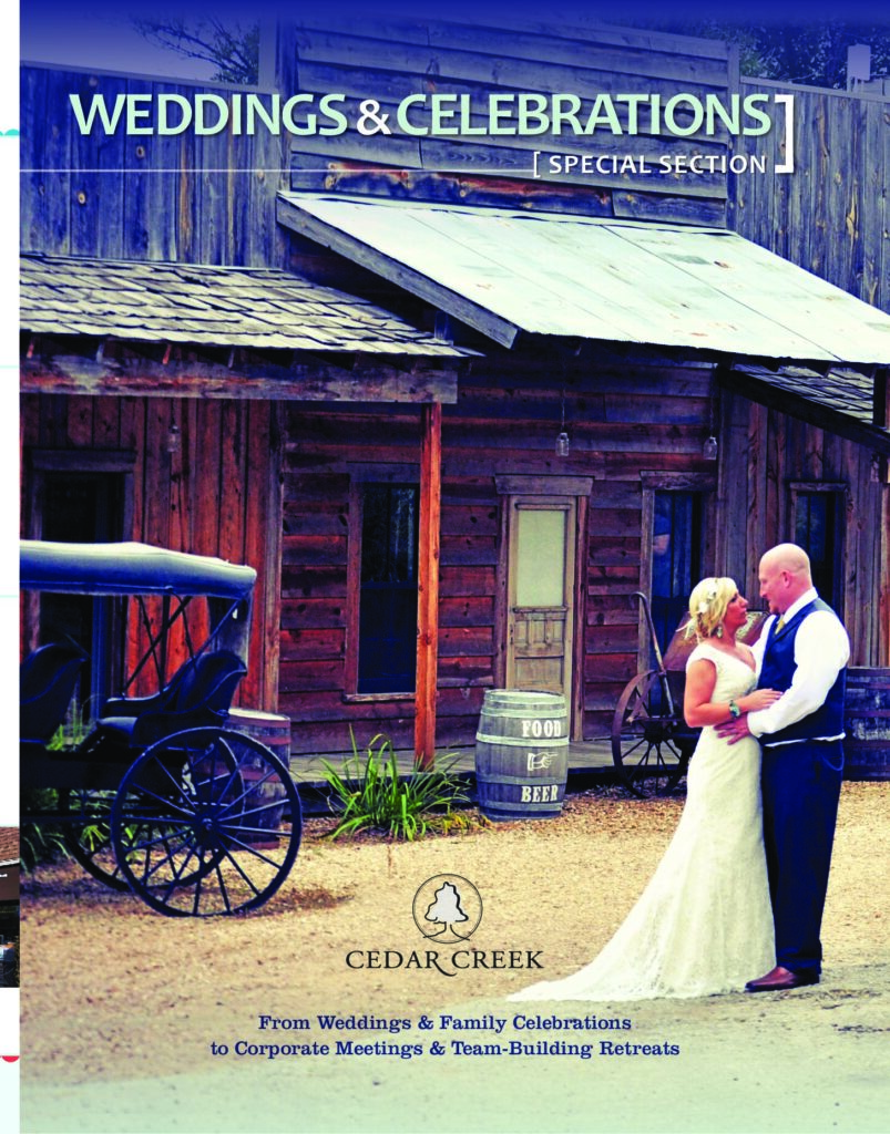 Cedar Creek Provides Ideal Setting for Special Day