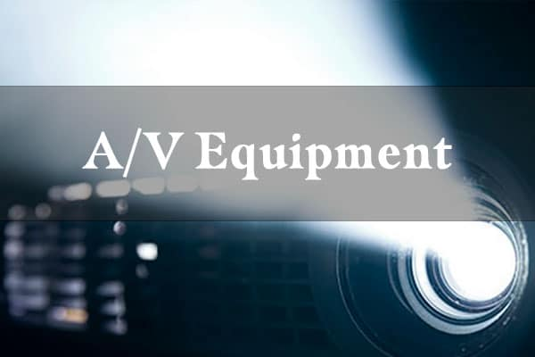 On-Site AV Equipment